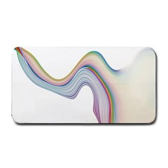 Abstract Ribbon Background Medium Bar Mats