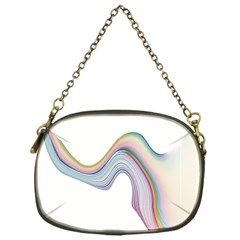 Abstract Ribbon Background Chain Purses (one Side)