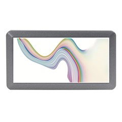 Abstract Ribbon Background Memory Card Reader (mini)