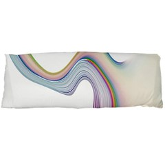 Abstract Ribbon Background Body Pillow Case (Dakimakura)