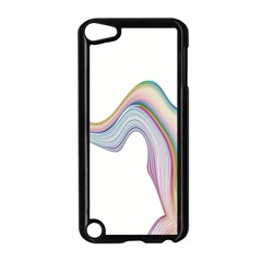 Abstract Ribbon Background Apple Ipod Touch 5 Case (black)