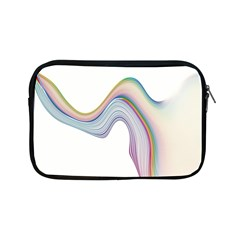 Abstract Ribbon Background Apple iPad Mini Zipper Cases