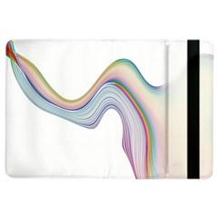 Abstract Ribbon Background Ipad Air 2 Flip