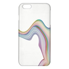 Abstract Ribbon Background iPhone 6 Plus/6S Plus TPU Case