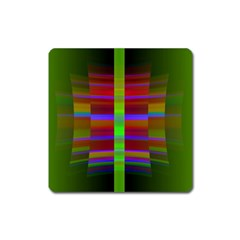 Galileo Galilei Reincarnation Abstract Character Square Magnet