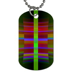 Galileo Galilei Reincarnation Abstract Character Dog Tag (Two Sides)