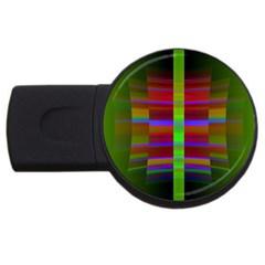 Galileo Galilei Reincarnation Abstract Character USB Flash Drive Round (1 GB)