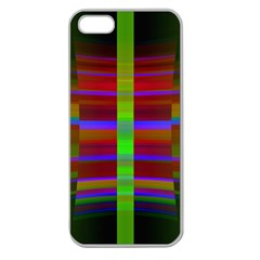 Galileo Galilei Reincarnation Abstract Character Apple Seamless iPhone 5 Case (Clear)
