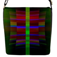Galileo Galilei Reincarnation Abstract Character Flap Messenger Bag (S)