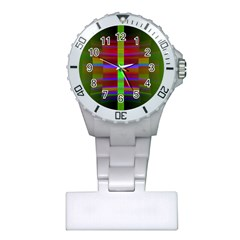 Galileo Galilei Reincarnation Abstract Character Plastic Nurses Watch