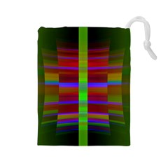 Galileo Galilei Reincarnation Abstract Character Drawstring Pouches (Large)