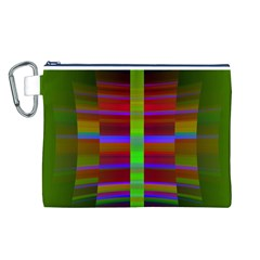 Galileo Galilei Reincarnation Abstract Character Canvas Cosmetic Bag (l)