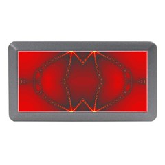 Impressive Red Fractal Memory Card Reader (mini)