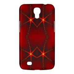 Impressive Red Fractal Samsung Galaxy Mega 6 3  I9200 Hardshell Case