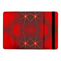 Impressive Red Fractal Samsung Galaxy Tab Pro 10.1  Flip Case