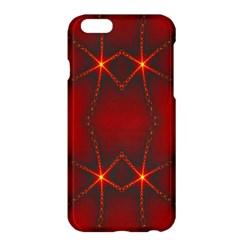 Impressive Red Fractal Apple iPhone 6 Plus/6S Plus Hardshell Case