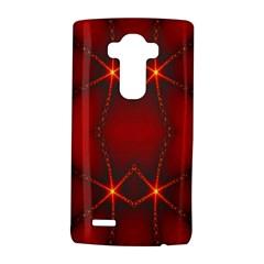 Impressive Red Fractal LG G4 Hardshell Case