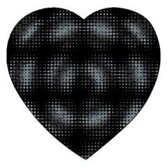 Circular Abstract Blend Wallpaper Design Jigsaw Puzzle (heart)