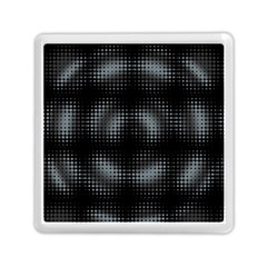 Circular Abstract Blend Wallpaper Design Memory Card Reader (square)