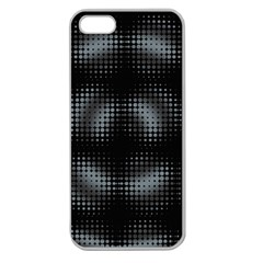 Circular Abstract Blend Wallpaper Design Apple Seamless iPhone 5 Case (Clear)