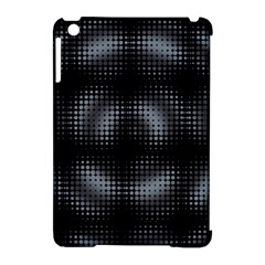 Circular Abstract Blend Wallpaper Design Apple Ipad Mini Hardshell Case (compatible With Smart Cover)