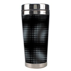Circular Abstract Blend Wallpaper Design Stainless Steel Travel Tumblers