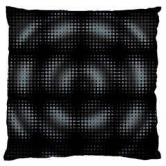 Circular Abstract Blend Wallpaper Design Standard Flano Cushion Case (One Side)