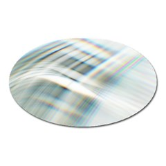 Business Background Abstract Oval Magnet