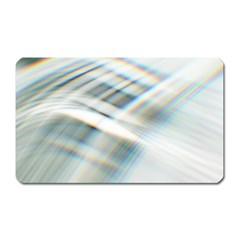 Business Background Abstract Magnet (Rectangular)