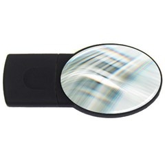 Business Background Abstract USB Flash Drive Oval (2 GB)