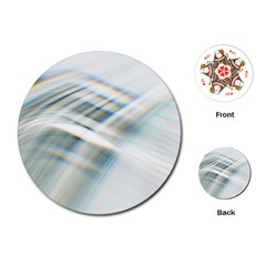 Business Background Abstract Playing Cards (round)