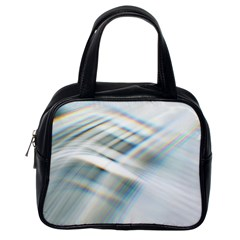 Business Background Abstract Classic Handbags (One Side)
