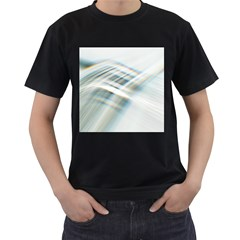 Business Background Abstract Men s T Shirt (black)