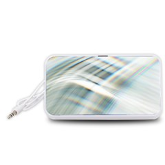 Business Background Abstract Portable Speaker (White)