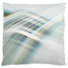 Business Background Abstract Large Cushion Case (Two Sides)