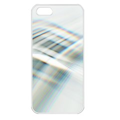 Business Background Abstract Apple Iphone 5 Seamless Case (white)