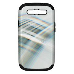 Business Background Abstract Samsung Galaxy S Iii Hardshell Case (pc+silicone)