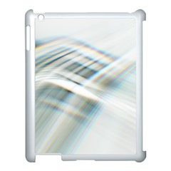 Business Background Abstract Apple Ipad 3/4 Case (white)