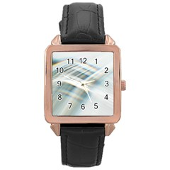 Business Background Abstract Rose Gold Leather Watch