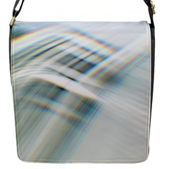 Business Background Abstract Flap Messenger Bag (S)