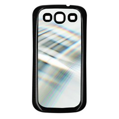 Business Background Abstract Samsung Galaxy S3 Back Case (Black)