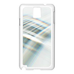 Business Background Abstract Samsung Galaxy Note 3 N9005 Case (White)
