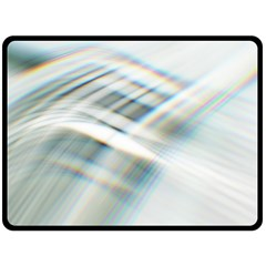 Business Background Abstract Double Sided Fleece Blanket (large)
