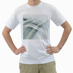 Business Background Abstract Men s T Shirt (white)