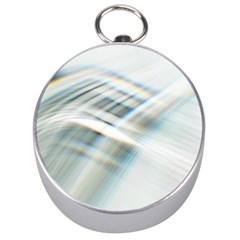 Business Background Abstract Silver Compasses
