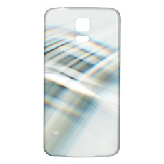 Business Background Abstract Samsung Galaxy S5 Back Case (White)