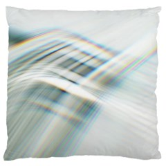 Business Background Abstract Large Flano Cushion Case (two Sides)