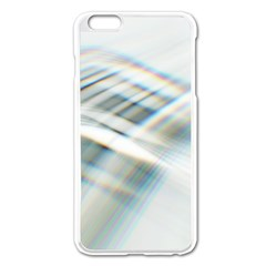 Business Background Abstract Apple iPhone 6 Plus/6S Plus Enamel White Case