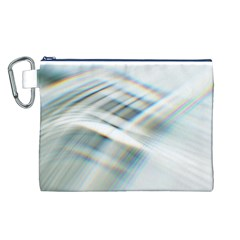 Business Background Abstract Canvas Cosmetic Bag (L)