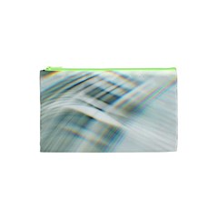 Business Background Abstract Cosmetic Bag (xs)